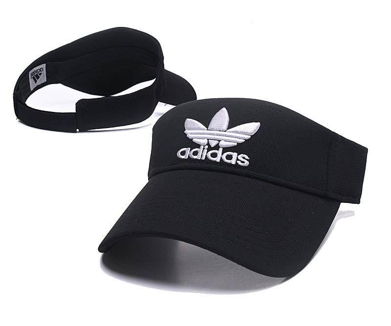 Adidas Golf Tennis Hats Sun Visor Cap Black White 069 Sport Hat Hats Hat Fashion