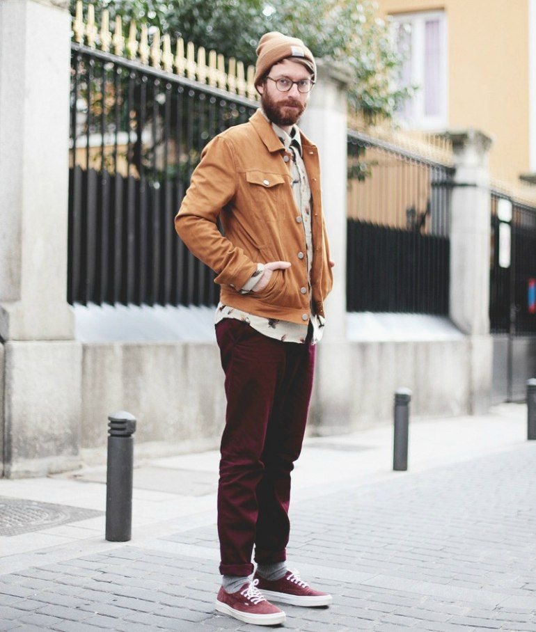maroon vans outfit guys - 60% remise