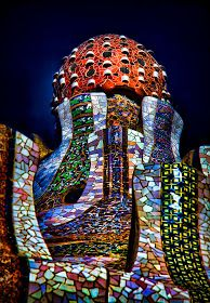 Incredible Pictures: Trencadis - Park Guell, #Barcelona