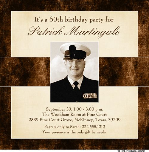 Download 60th Birthday Invitations For Men 60th Birthday