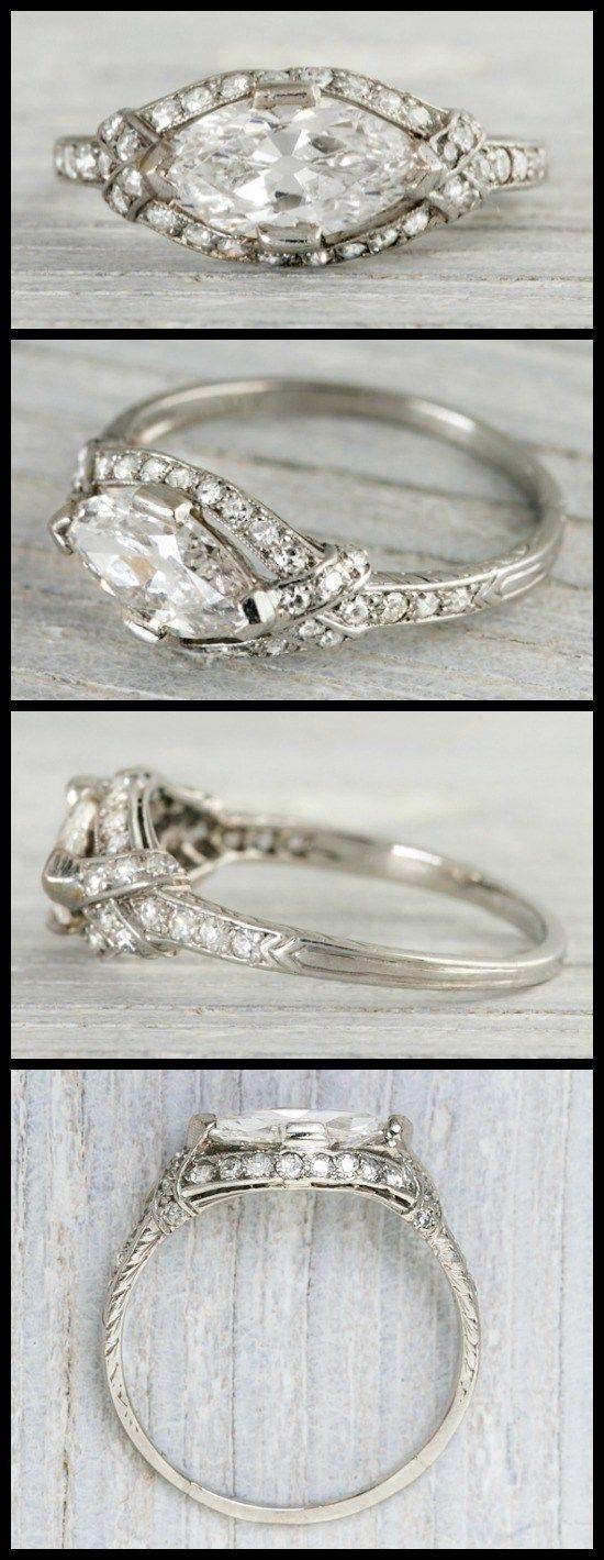 Zwei außergewöhnliche Verlobungsringe aus den 1920er