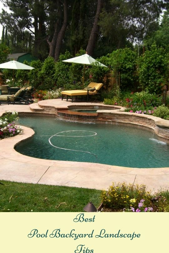 Pool Backyard Landscaping Pointers That You Will Love Pools