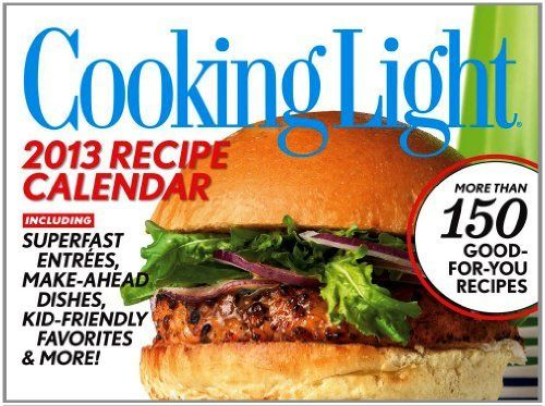 Cooking Light 2013 Day-to-Day Calendar (9781449415853) Most Liked