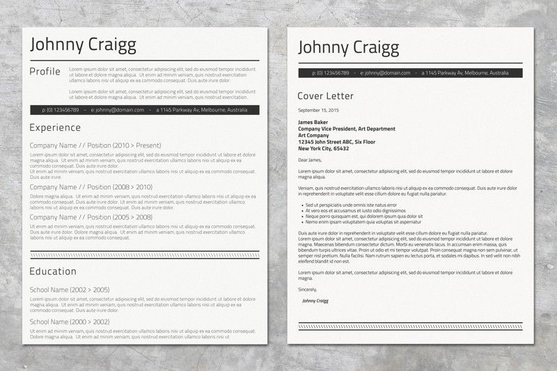 Resume Templates Microsoft Word 2010 Impressive Professional Ms Word Cv  Microsoft Word And Template