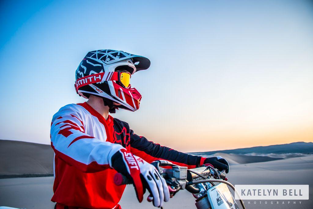Katelyn Bell Photography | Rexburg Photographer | Creative Portrait | Product Photography | Rexburg Sand Dunes #KatelynBellPhotography #sanddunes #creativeportrait  #productphotography #SeniorPortrait #Moterbike #Sportsphotography