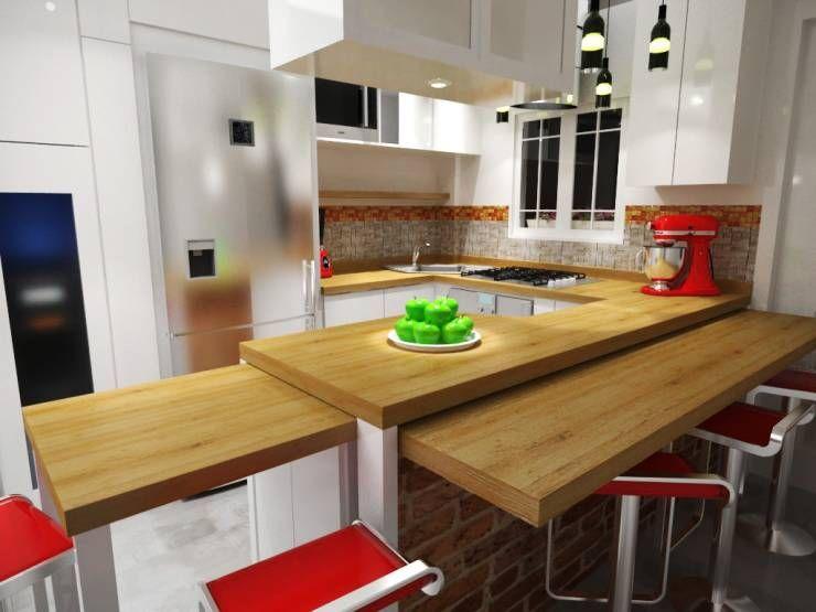 Excepcional Encontrado Cocina Y Social House Friso - Ideas de ...