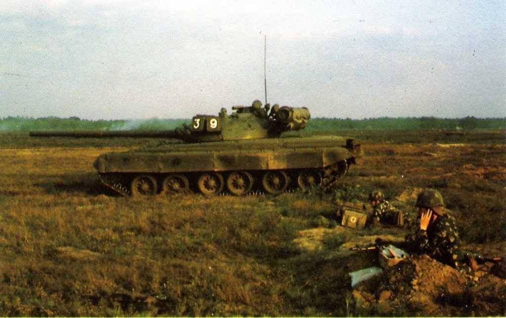 A T 80 Tank Of The Gsfg Group Of Soviet Forces Germany On The