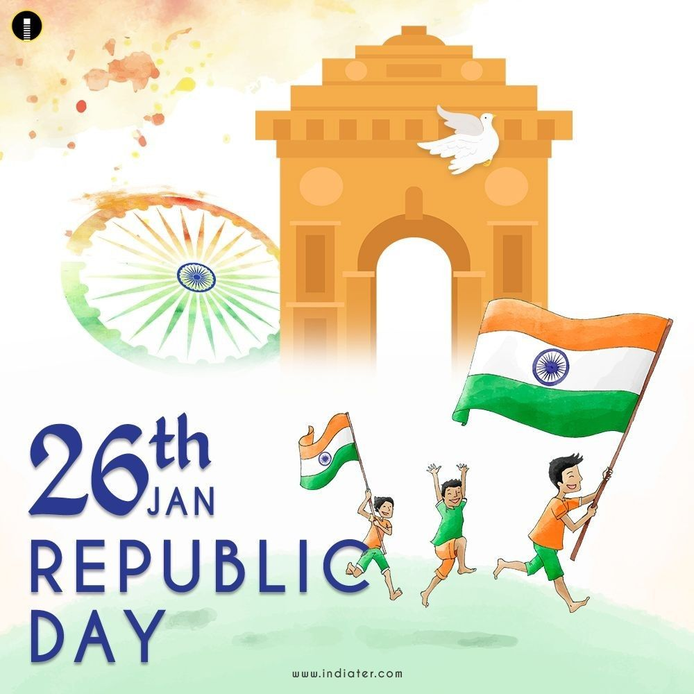 Happy Republic Day In 2021 Happy Republic Day Wallpaper Republic Day Background Design Happy republic day gif 2021 images