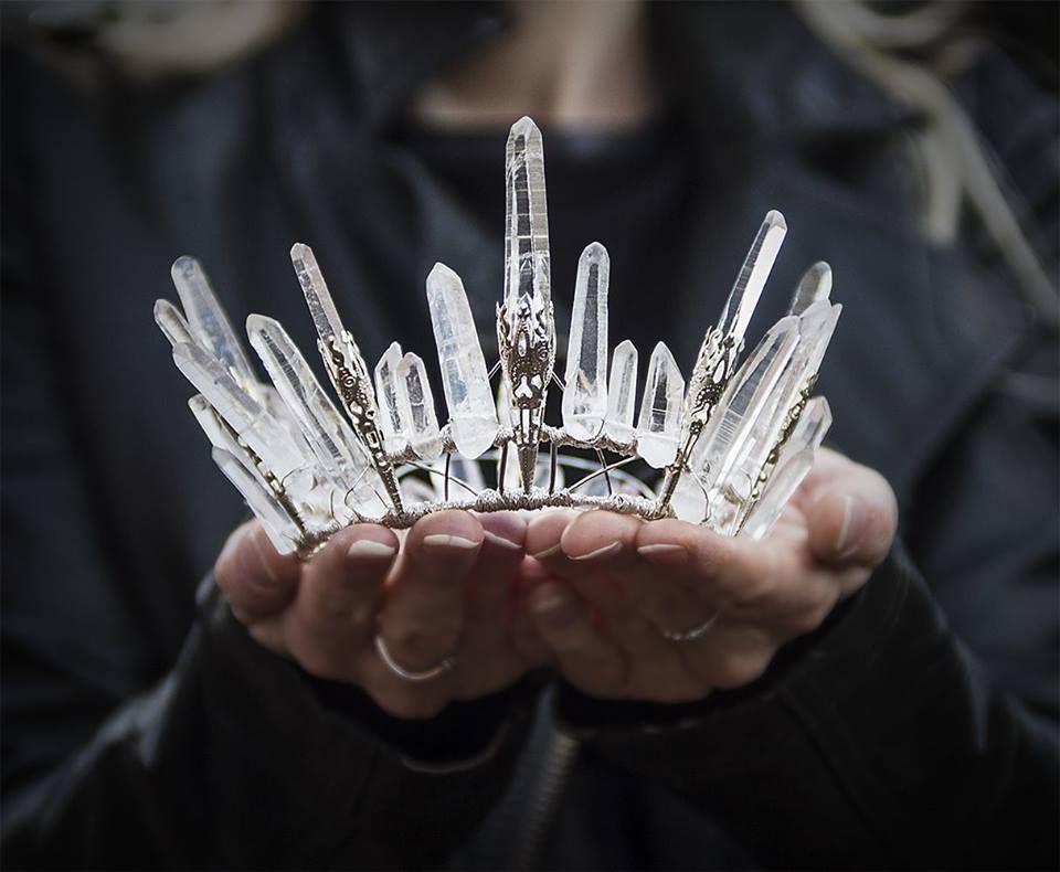 Quartz Crystal Crown - I want! $545.00