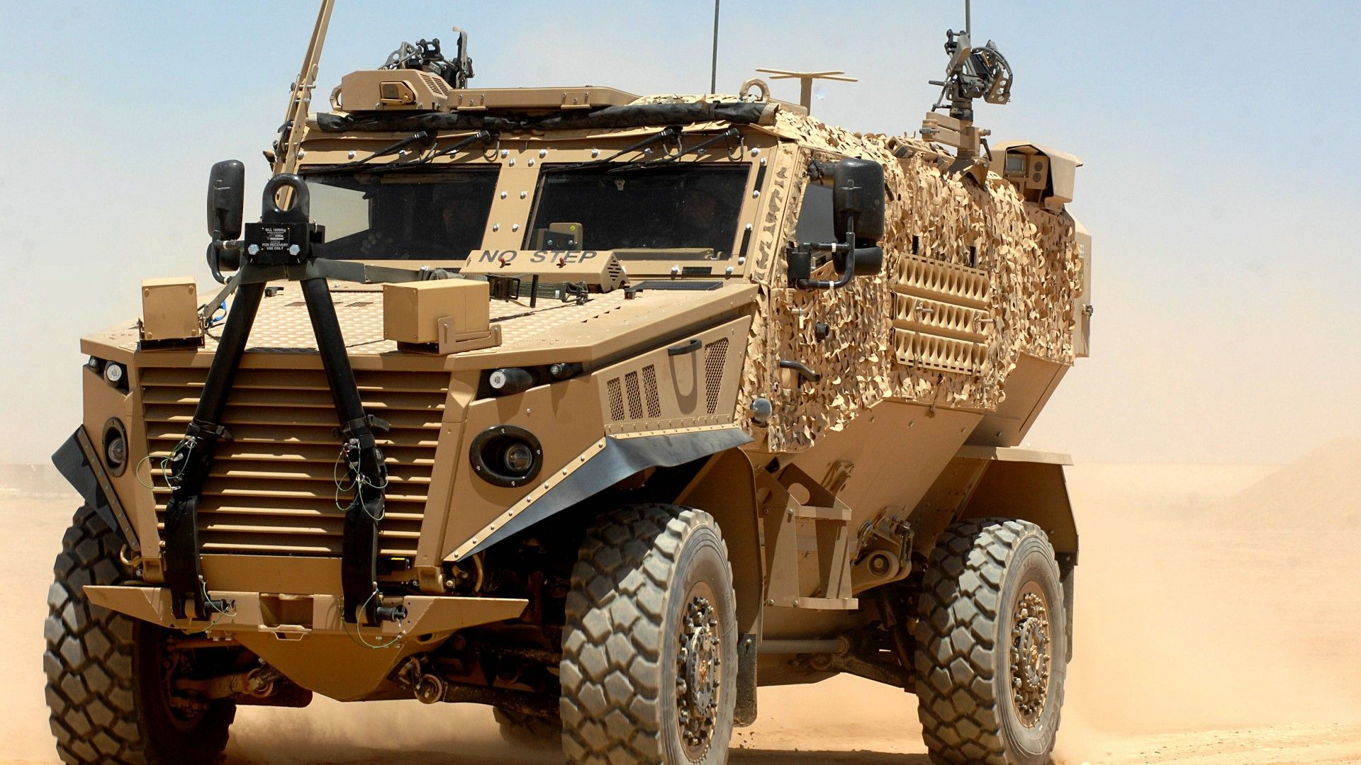 Wallpaper Ocelot Foxhound Force Protection Armoured Vehicle