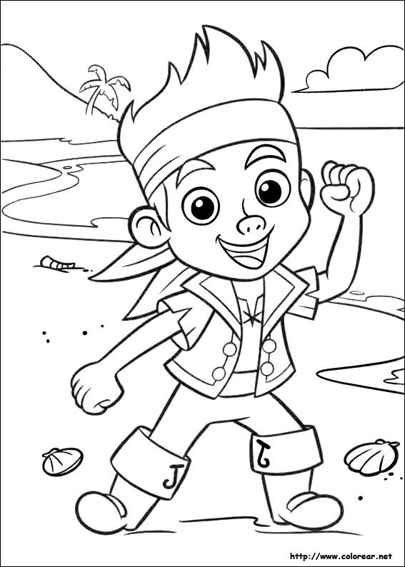 Dibujos piratas para colorear e imprimir buscar con for Jake and the pirates coloring pages