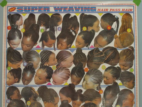 Reserve 4 Joyceice Vintage Hair Salon Poster Women S Hair Weave Styles Barbershop African Poster From Rwanda 1980s Cornrows Braids African Hair Salon Vintage Hair Salons Vintage Hairstyles