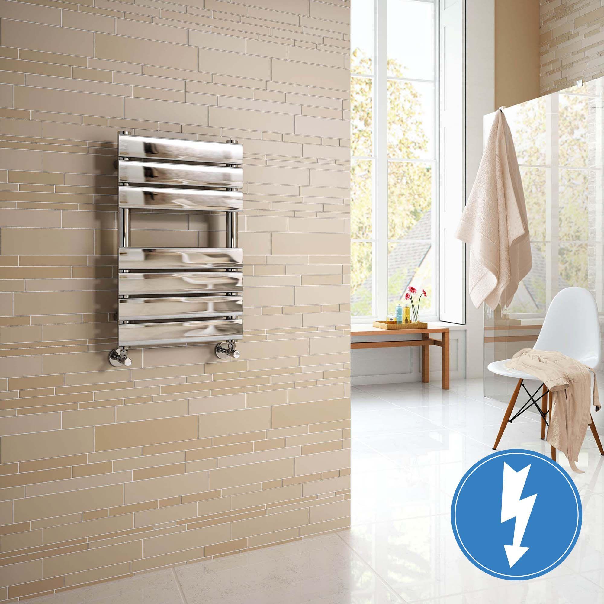 Small Bathroom Radiator Towel Rail Wall Mount