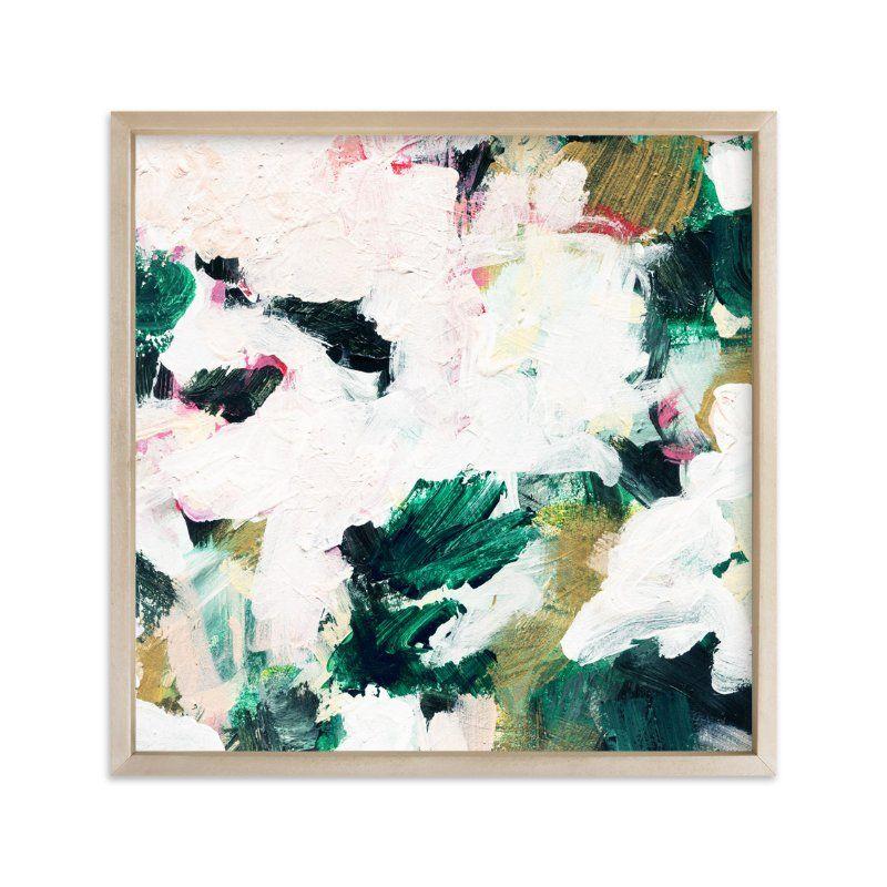 Kunstwerke Zeitgenössisch 90x90 Kunstdruck Abstrakte Kunst Modern Art Galerie