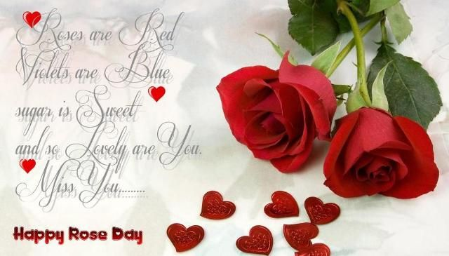 Romantic Love Wallpaper For Husband : Happy Rose day Quotes for Boyfriend, Girlfriend, Husband, wife Love messages Pinterest ...