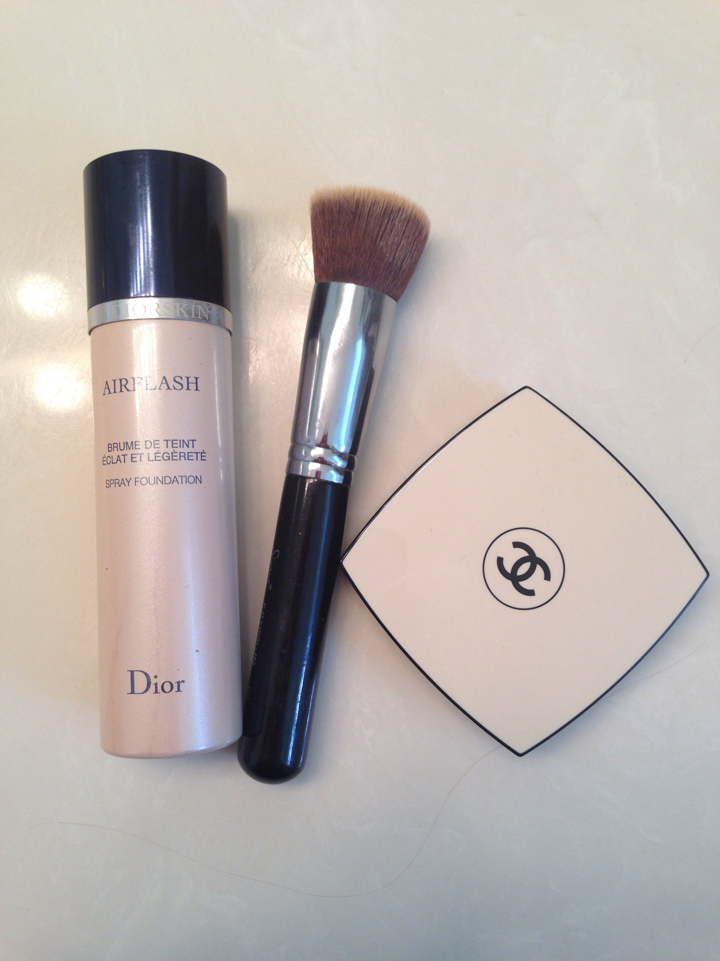 My flawless face recipe dior airflash sigma f80 brush