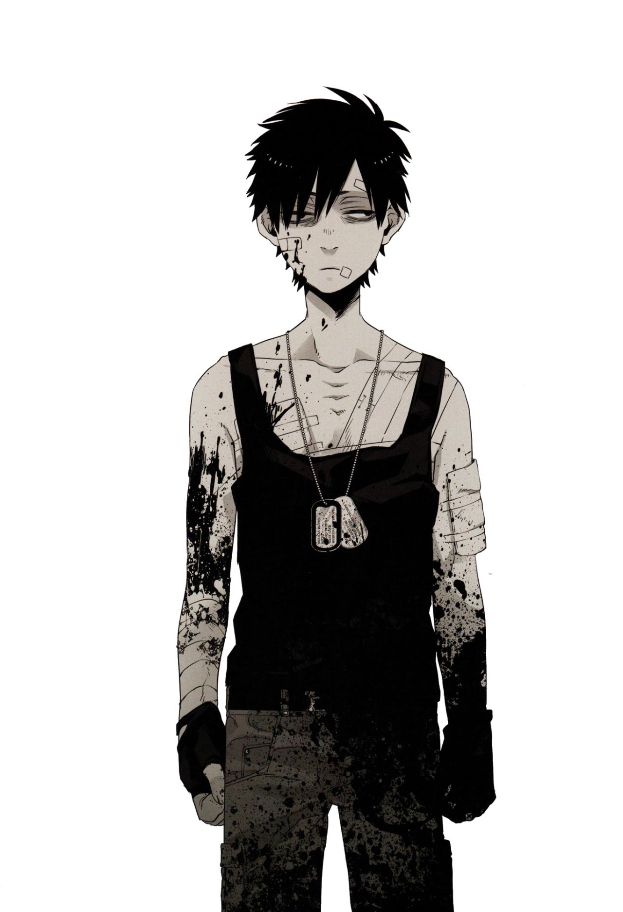 Nicolas Brown Gangsta anime, Dark anime, Anime