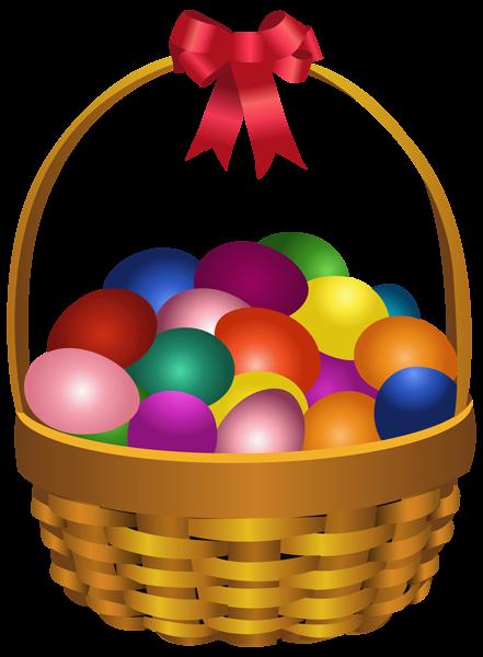 Easter Eggs In Basket Transparent Png Clip Art Image Easter Images Clip Art Easter Images Happy Easter Pictures Inspiration