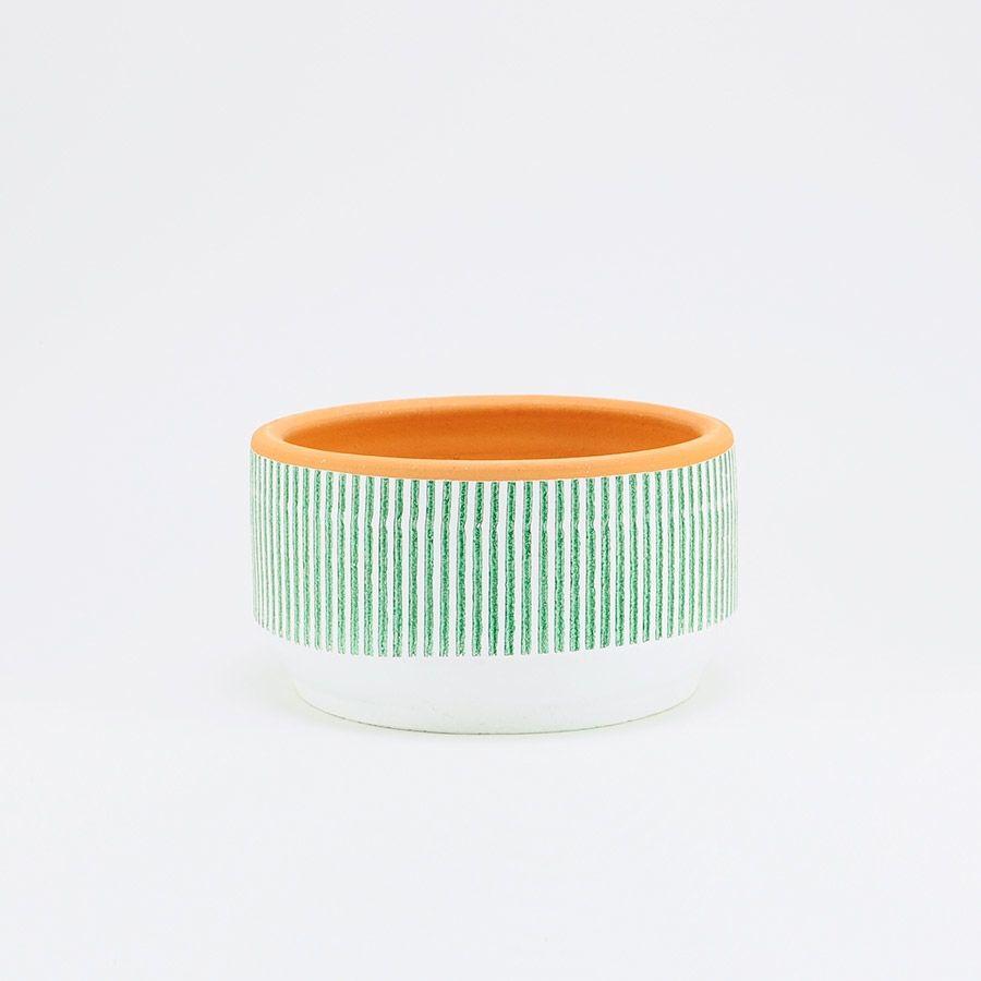 Macetero/Pot LAMA Rayas - S