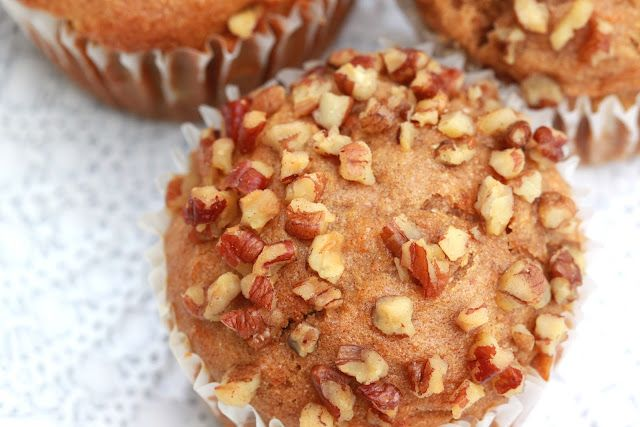 Carrot Pineapple Muffins  from forgiving martha by Jess