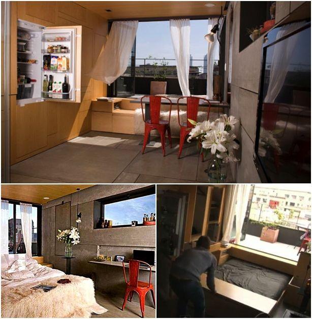 10+ Best Space Saving Ideas Living Room
