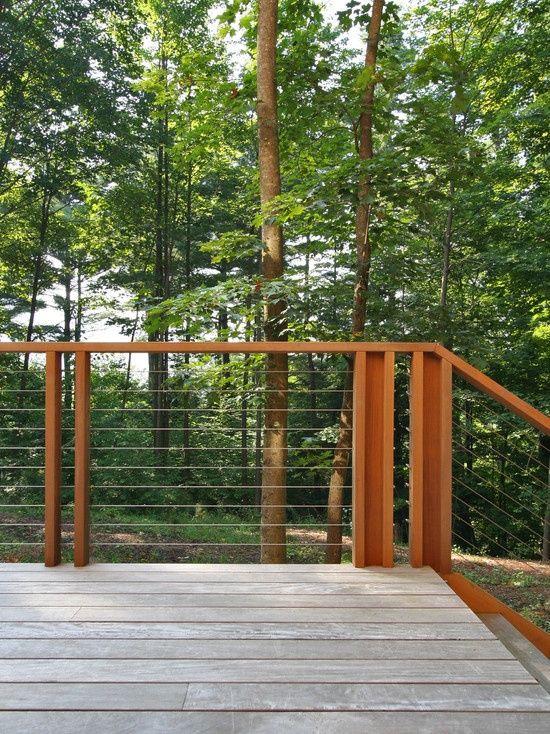 Mountain Modern Townhome Exterior Railings | Modern Exterior Cedar Siding  Balcony Design And Interior Stair Railing