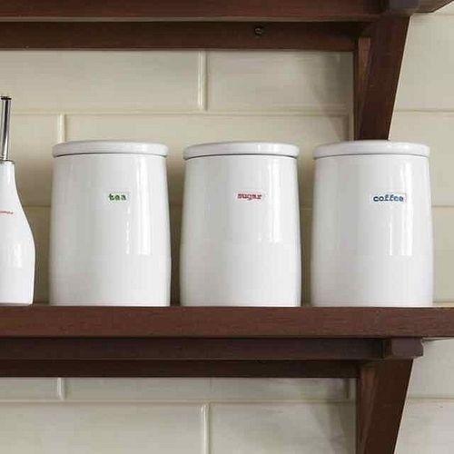Coffee Tea And Sugar Storage Jars