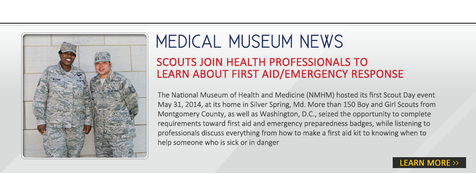 Scouts Join Health Professionals to Learn About First Aid/Emergency Response