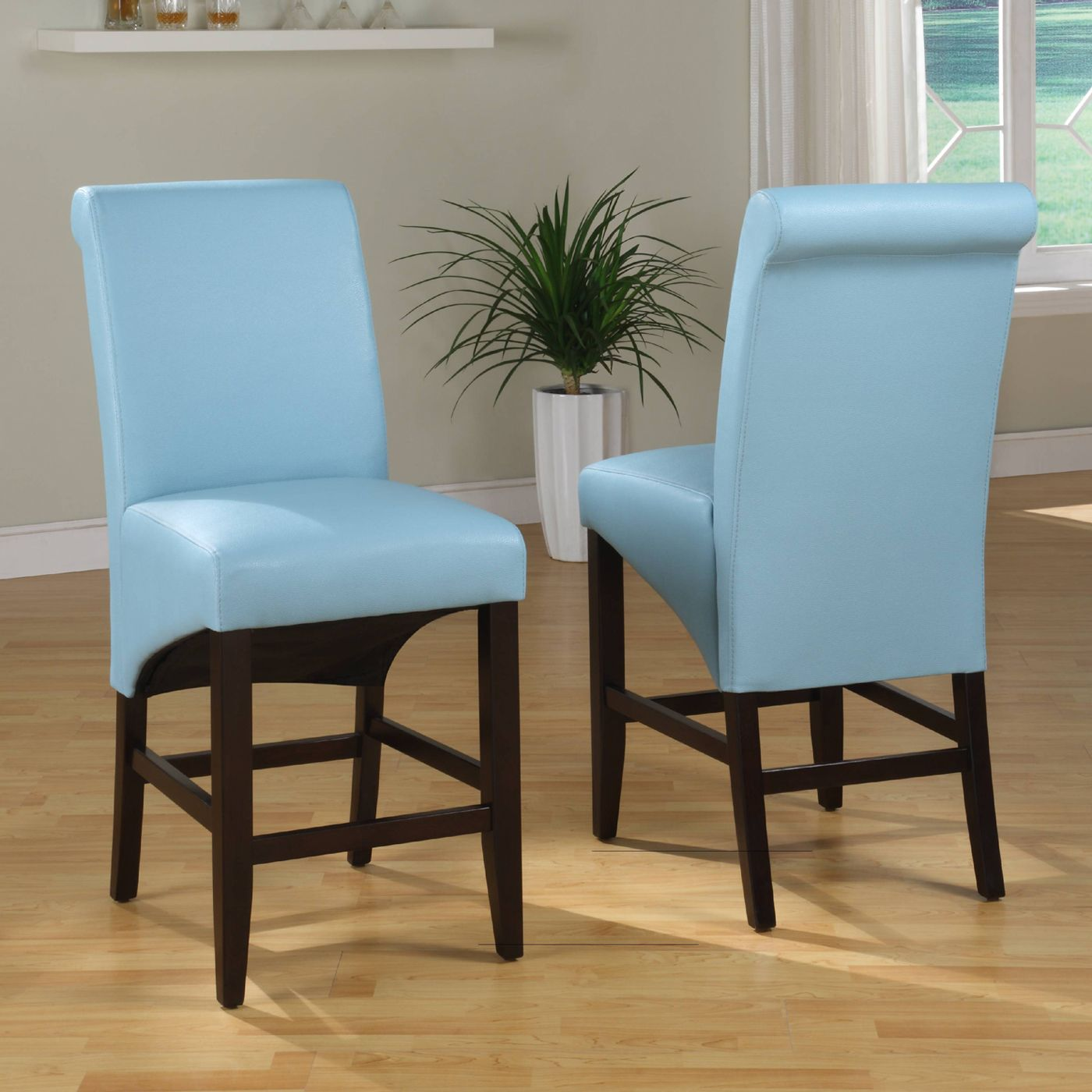 Modus Furniture Cosmo Sleigh Back Stool (Set of 2) | ATG Stores