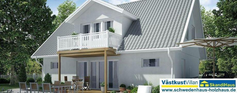 Photo of Zu einem Holzhaus aus Schweden gehört natürlich auch eine Holzfas