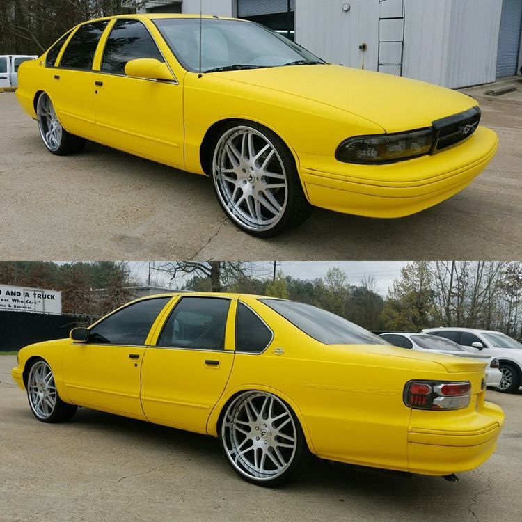 1996 Classic Chevy Caprice Wrapped Style Has No Limits With