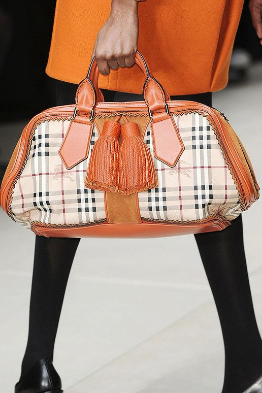 Burberry Prorsum Fall 2011 Runway Bags