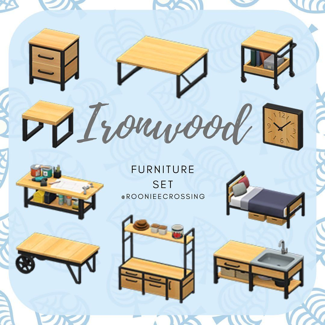 The ironwood furniture set, let others know in the ... on Ironwood Furniture Animal Crossing  id=56753