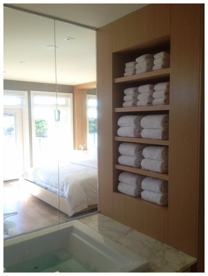 spa towel storage. Abundance Of White Soft Towels Spa Towel Storage