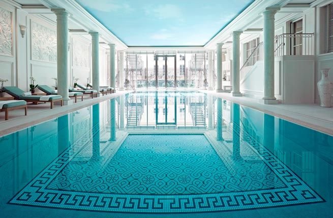 10 Best Hotel Spas In Paris