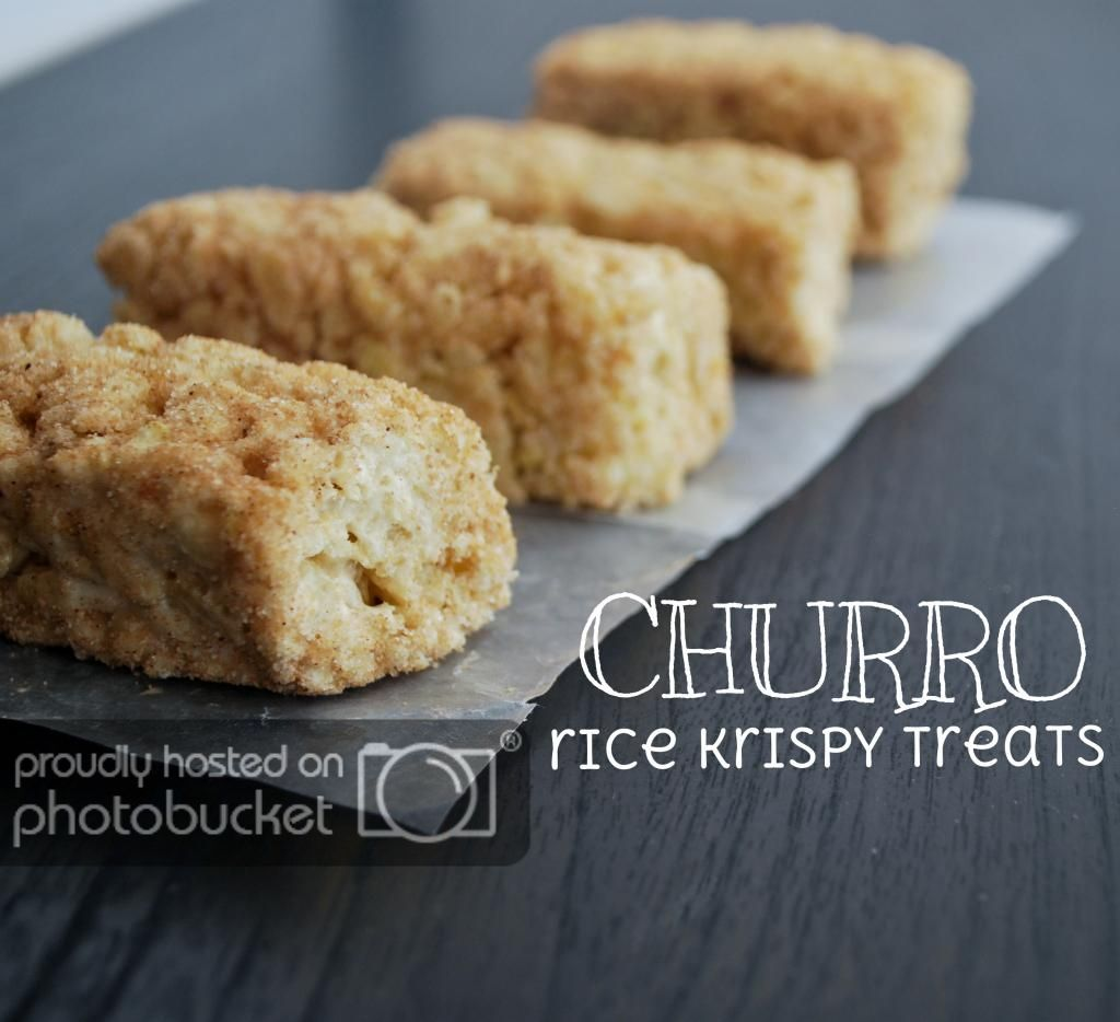 Mallow and Co.: Churro Rice Krispy Treats #ricekrispiestreats