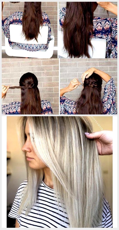 Photo of 2018 Medium opp og halv ned frisyrer for langt hår 2018 Medium opp og halv frisyrer …