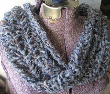 Tunisian Crochet Patterns Tunisian Crochet Mobius Loop Scarf