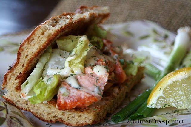Gluten Free Spinner: Focaccia Sandwich Bread