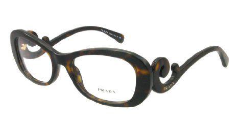 13e0793a4e6 My new eyeglasses! Amazon.com  Prada Glasses 09PV 2AU101 Tortoise