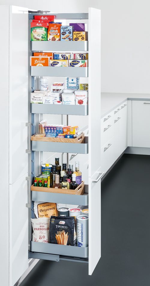 Plan your kitchen with allround carefree service at Spitzhüttl Home Company  Organization is everything Like this practical pharmacy cabinet for the kitchen More inf...