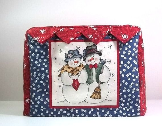 Christmas Snowman Toaster Cover