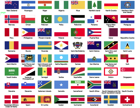 Free Vector File 275 Free World Flag Vectors Flags Of The World Flag Vector Flag