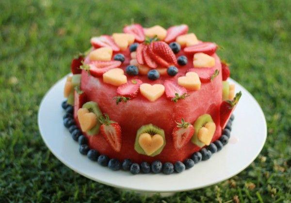 Enjoyable 13 Sugarless Cakes For Babys First Birthday Fruit Birthday Cake Personalised Birthday Cards Epsylily Jamesorg