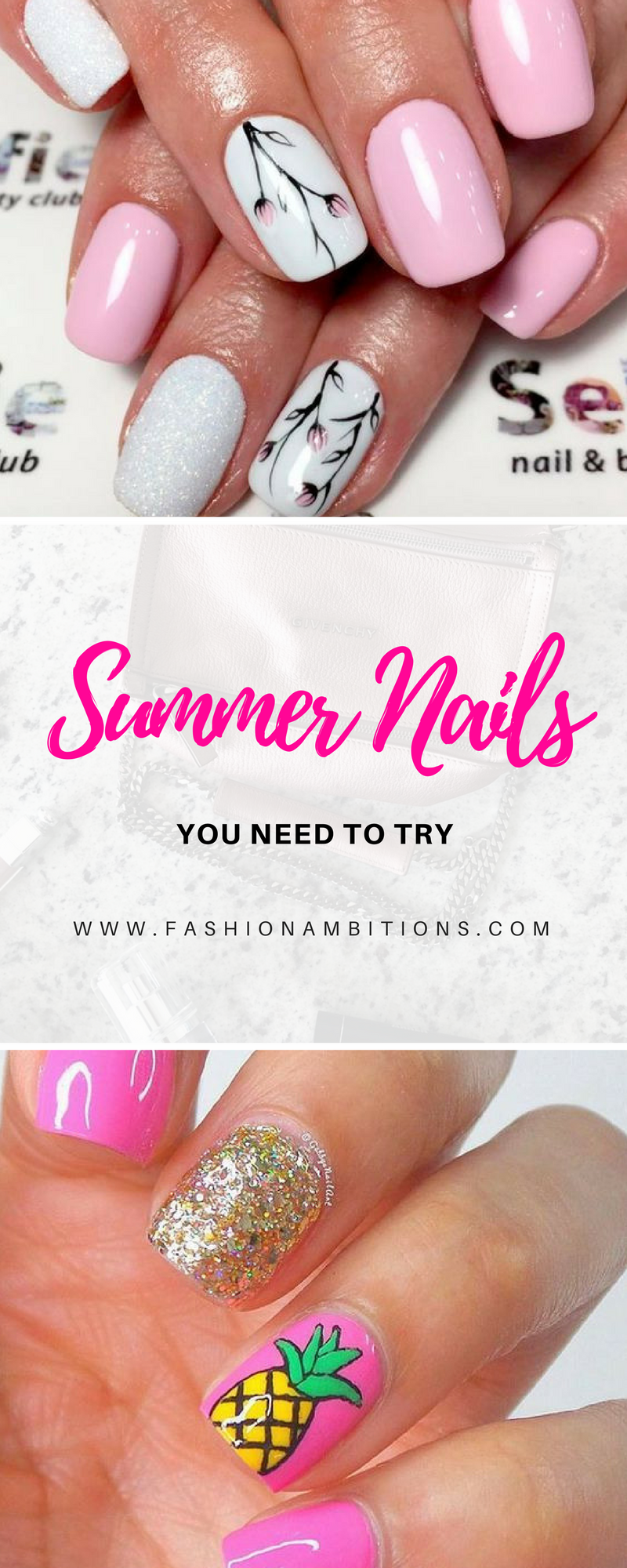 Summer nails designs you need to try accessories pinterest