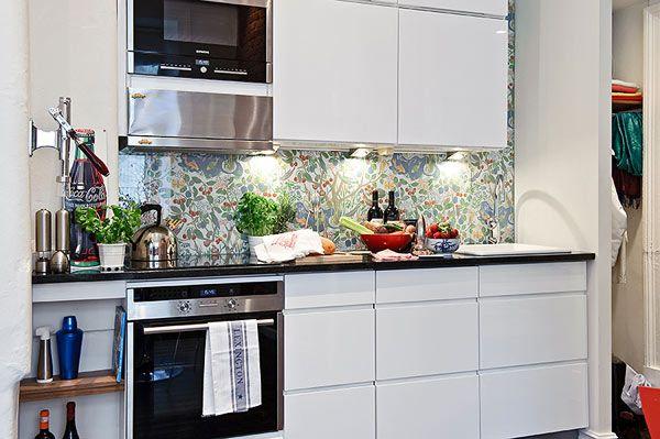 Small Apartment In Sweden Shockblast Keuken Ontwerp Luxe