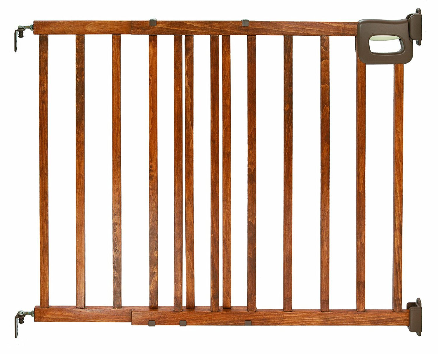 Deluxe Wood Stairway Gate >>> Click image to review more
