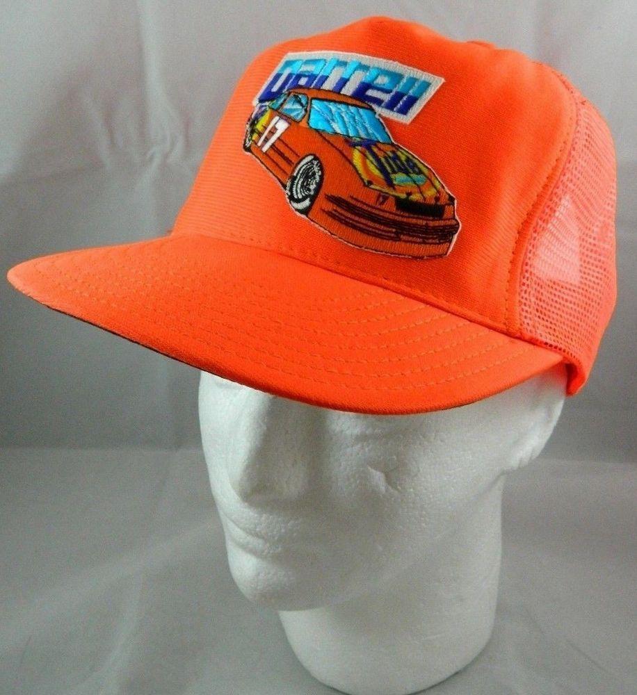 fc7bf6c2bef Vintage Darrell Waltrip NASCAR Racing Trucker Cap Hat Hendrick SnapBack Tide   17  EagleRidge