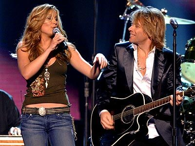 Jen Jon Who Says You Can T Go Home Bon Jovi Jennifer Nettles Jon Bon Jovi