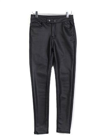 레더로이드,pants